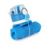 bottiglia di acqua esterna pieghevole di corsa di cinque colori di 1000ml Eco