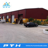 Structure en acier de conception de la construction industrielle l'entrepôt (PTW-008)