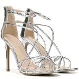 El mejor venta de nuevos Señoras sexy Crystal sandalias de tacón zapatos de mujer