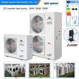 La Chambre froide Heat+Dhw 12kw/19kw/35kw/70kw de Raidator de l'hiver de l'Estonie/de Lettonie/Moldau -25c Automatique-Dégivrent la pompe à chaleur Evi air-eau