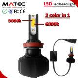 Selbst-LED-Auto-Scheinwerfer H1 H7 H11 H4 9005 9006 360 heller LED Scheinwerfer