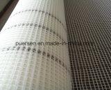 着色されるガラス繊維の網を壁補強すること