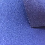 1.0Mm imitation cuir velours Tissu en microfibres pour les chaussures sacs en cuir