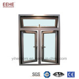 Aluminium Windows en verre Tempered de Windows de bâti en aluminium résidentiel double