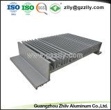 Personnalisé de haute qualité en aluminium en alliage aluminium extrudé 6063 PROFIL AVEC LA NORME ISO9001 certifié