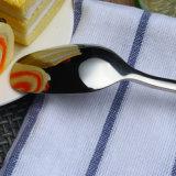 Из нержавеющей стали в западном стиле Gold ножа вилки ложки, полимеры ручки Набор столовых приборов
