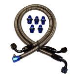 Haute qualité sur le fil en acier inoxydable durable PTFE flexible de frein lisse