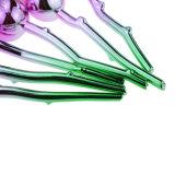 Professional 6pzas aumentaron un controlador de forma suave Juego de cepillos de maquillaje Face Powder Foundation cepillos