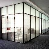 Puerta aislador de la partición de cristal de Frameless del estilo europeo
