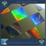 Progettare la multi stampa per il cliente dell'autoadesivo del laser dei canali