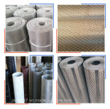 Galvanizado de acero inoxidable de alta calidad de malla de metal expandido en Guangzhou