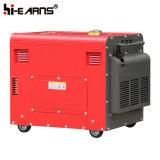 Cilindro Único Air-Cooled conjunto gerador diesel Trifásico (DG6500SE)