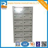 Casella di lettera di alluminio della cassetta postale di profilo