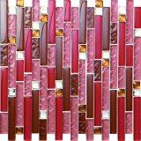 Cuadro de cristal del mosaico del azulejo del vidrio cristalino de la baldosa de cristal y cerámica