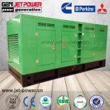 De Chinese Geluiddichte Diesel Genset van de Generator van de Motor Waterkracht Elektrische 90kw