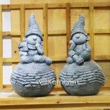 Heet en Populair verkoop het DwergStandbeeld van de Decoratie van de Tuin van de Hars