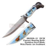 Нож 34cm выживания ножа ножей звероловства козочки сь тактический