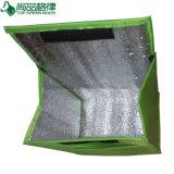Aluminiumfolie-scherzt faltbarer Gefriermaschine-Handtaschetote-Beutel Mittagessen-Kühlvorrichtung-Beutel