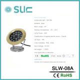 새로운 디자인 고급장교 IP68 LED 수중 샘 빛