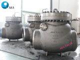 Couvercle vissé en acier au carbone non-retour du clapet antiretour de rotation du disque
