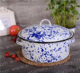 Sunwater Enamel Stock Pot / Steamer / Esmalte Stew Pot