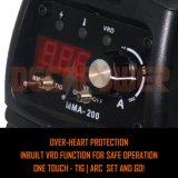 용접 및 납땜 사용법 200AMP DC 아크 용접 기계 MMA-200