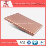 El panel de pared de aluminio PVDF para revestimiento de fachada/// Material de construcción de techos decorativos