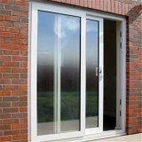 Disegno di vetro di alluminio del portello, portello scorrevole di alluminio, portello di alluminio