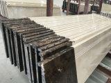 Indoor Decoration를 위한 Granite Marble Stone Stair Tile를 주문 설계하십시오