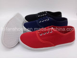 Классицистическая фабрика ботинок тапки холстины отдыха женщин (FPY818-13)