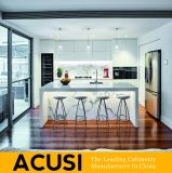 Armadio da cucina moderno della mobilia della casa del compensato della lacca (ACS2-L121)
