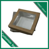 PVC Windowsが付いている熱い販売の板紙箱