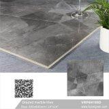 China Foshan cinza com vidro polido piso de cerâmica de porcelana vitrificada banheiro azulejos de parede (VRP6H188D)