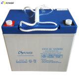 batería de 6V220ah Folklift, batería profunda da alta temperatura del gel del ciclo