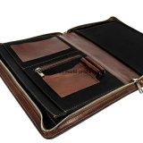 Housse portefeuille de l'Organiseur de Document A4 Dossier du portefeuille en cuir