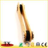 Venta caliente ecológica promocional Llavero de madera