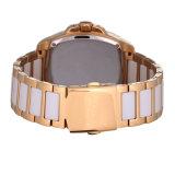 工場カスタムロゴすべてのステンレス鋼の方法人の腕時計