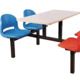 4 Lugares barato moderno Restaurante mesa e cadeira de madeira