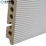 福建省の製造者の建物の正面のためのStripy表面の白いテラコッタタイル