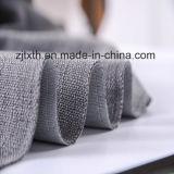 2016贅沢な灰色のリネン陽イオンのソファーファブリック
