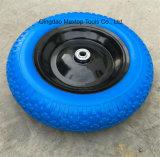 중국 단단한 폴리우레탄 거품 외바퀴 손수레 바퀴