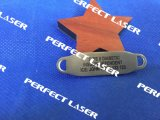금속을%s 광섬유 Laser 표하기 기계를 비행하는 공기 20W 냉각