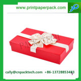 Boîte-cadeau de empaquetage de Bowknot de carton attrayant de Noël