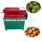 L'usine aux noix de pécan automatique décortiqueur noyer d'alimentation de la fissuration de la machine