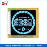 파란 특성 옥수수 속 LCD 디스플레이에 LCD 스크린 백색