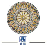 Mattonelle di marmo della maschera del mosaico e mosaico Waterjet, reticolo di mosaico di marmo, arte del pavimento del medaglione della decorazione
