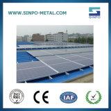 De ZonneSteun van het aluminium - de Oplossing van het Systeem van de steun voor het Dak van het Tin