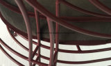 El metal del acero inoxidable alinea la silla del arte de la silla del café del hotel de la silla del ocio (M-X3001)