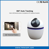 新しい1080P白360度の自動追跡のWiFiのカメラ