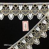 garniture classique mignonne Hme822 de lacet de Venise de forme de coeur d'oeillet de 6cm Shantou mini